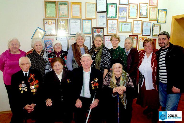 Ветераны с сотрудниками СОМХМ и Радио MCC