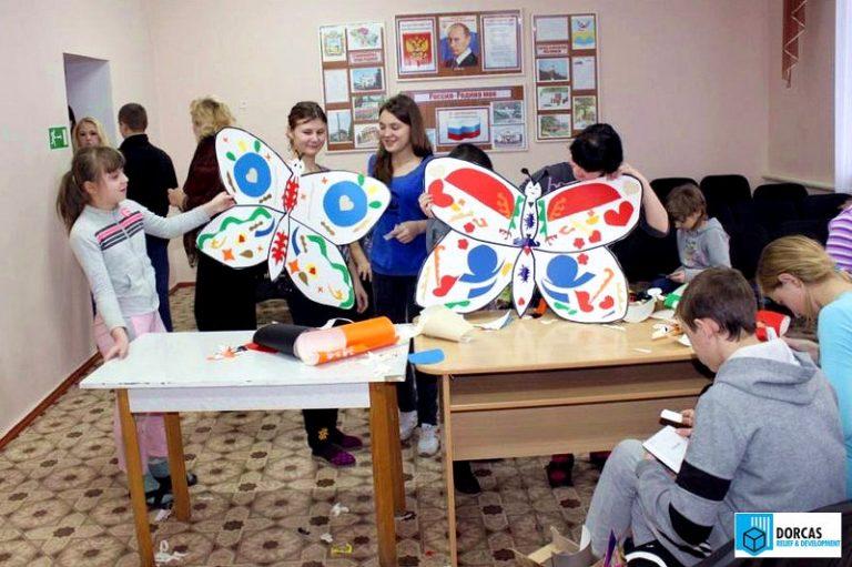 Мастер-класс по дизайну в детском доме