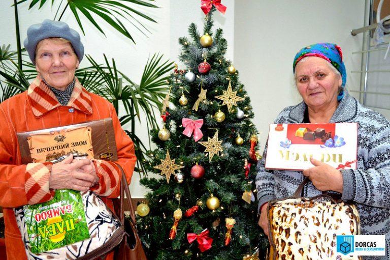 Пенсионеры Владикавказа получили новогодние подарки