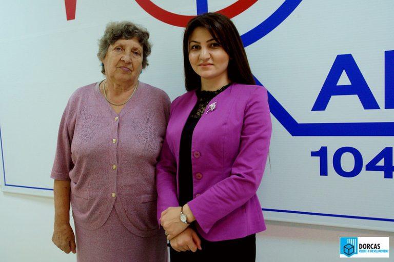 Светлана Семерникова с сотрудниками Радио MCC