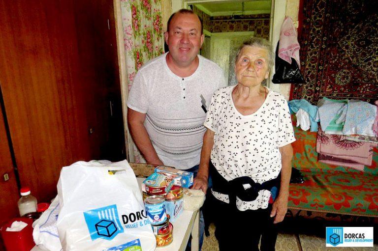 Президент БФ «Надежда Есть» Владимир Балуев посетил подопечную бабушку