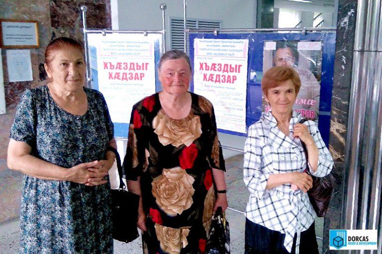 Бабушки из Владикавказа впервые за долгое время посетили театр