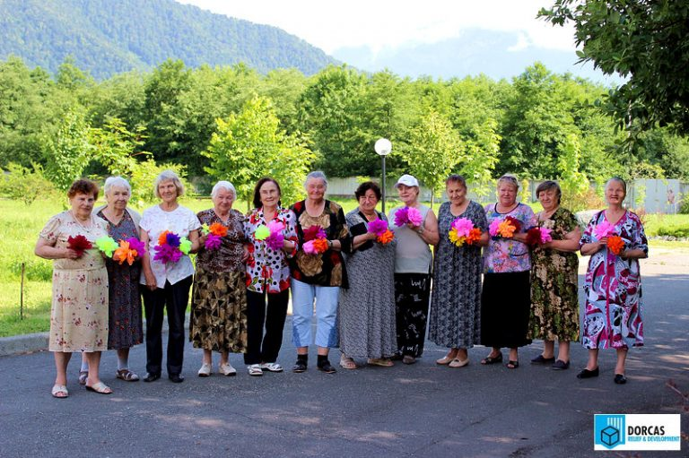 Бабушки очень довольны посещением лагеря