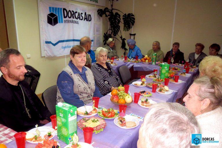 Праздник для бабушек в Плавске