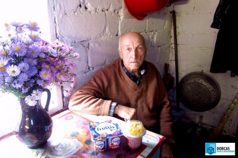 Подопечные пенсионеры получили йогурт от ООО «Кампина»
