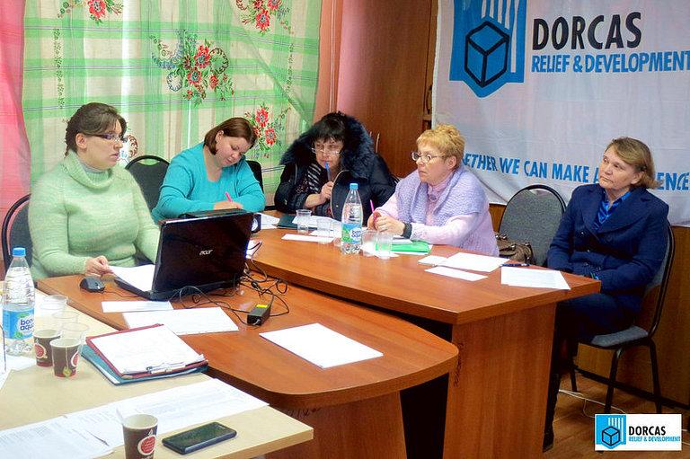 Учебный семинар для социальных работников Благотворительного фонда «Надежда Есть» в Туле