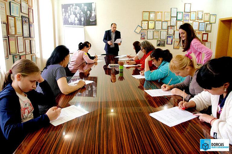 Участники проекта «Ты можешь, мы рядом» проходят психологическое и профориентационное тестирование