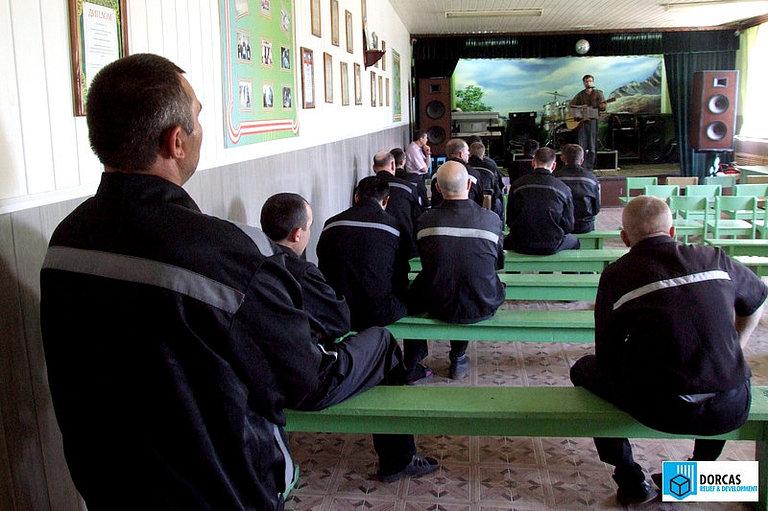 Беседа на духовно-нравственные темы в одной из колоний Саратовской области