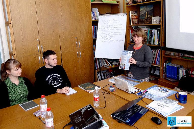 Президент АНПО АСЕТ Любовь Макарова проводит тренинг по профилактике ВИЧ в Ставрополе