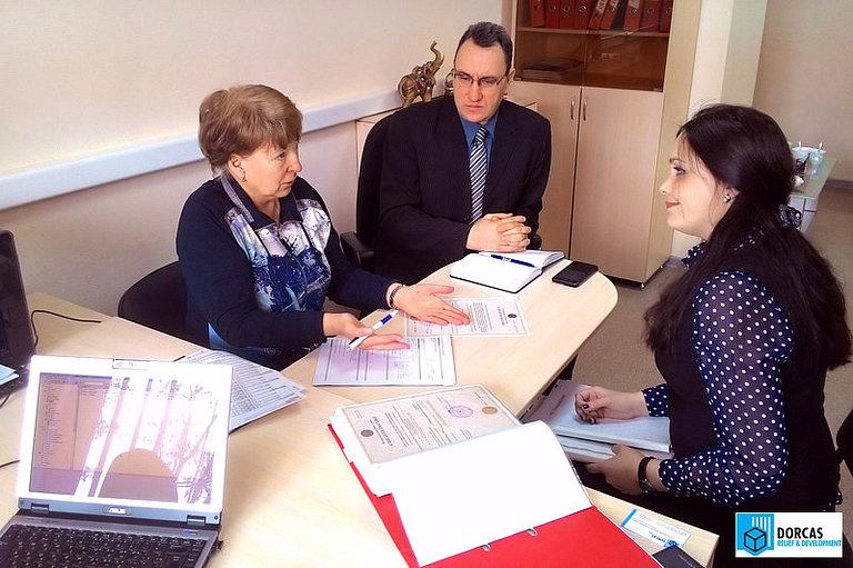 Проверочный визит сотрудников ЧУ «Доркас СНГ» в партнёрскую организацию