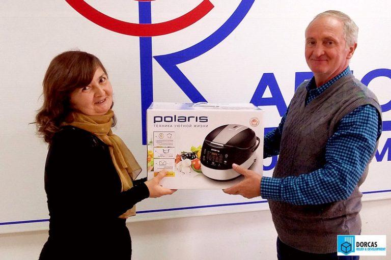 Рита Кобесова получила подарок от СОМХМ и Радио MCC