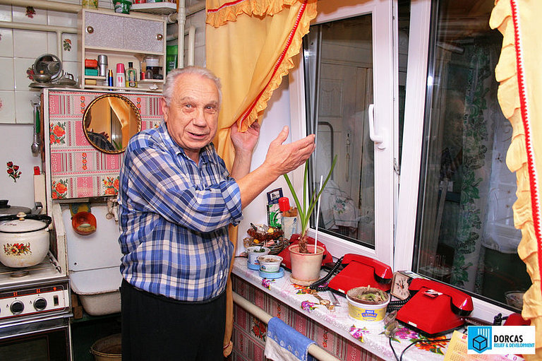 В доме пенсионера из Тульской области установлены новые окна