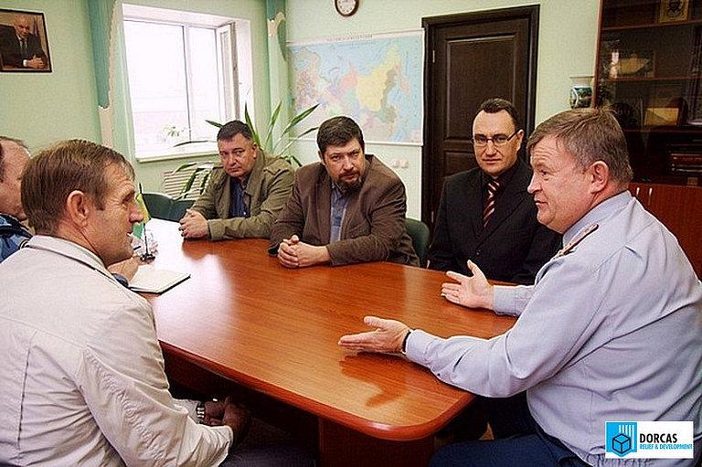 Сотрудники ЧУ «Доркас СНГ» и партнёрских организаций обсуждают вопросы социальной адаптации заключённых с руководством УФСИН Пензенской области