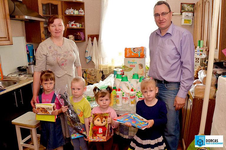 Сотрудник партнёрской организации из Пензы доставил материальную помощь подопечной семье